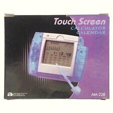 Touch Screen Calculator Calender  a-max AM-228