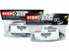Stoptech Stainless Steel Braided Brake Lines (Front & Rear Set / 47003+47503)