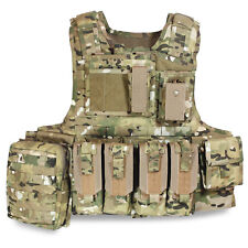 Bulldog MK2 Military Army Tactical MOLLE Armour Plate Carrier Vest MTP Multicam
