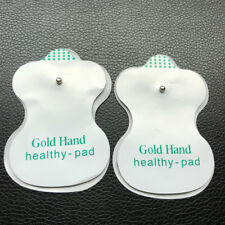 2pcs Replacement Tens Electrode Pads Snap On 3.3mm For TENS Unit Pulse Massager