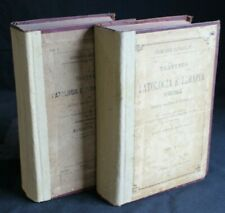 Treaty of Disease and Therapy Special. Vol 1, 2. eichhorst. Vallardi, 1884.