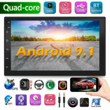 """7"""" Android 9.1 Car Stereo Gps Navigation Radio Mp5 Player Double Din Wifi Usb"""