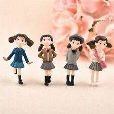 4Pcs/Set Fairy Garden Figurines Miniature Angel Girls Resin Crafts Ornament Gnom