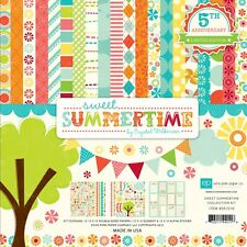 Echo Park SWEET SUMMERTIME 12x12 Scrapbook Collection Kit