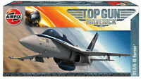 Airfix Top Gun Maverick F/A-18 Hornet 1:72 Scale Plastic Model Plane Kit A00504