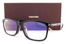 Brand New Tom Ford Eyeglass Frames 5646-D-B/V 001 Black For Men Size 57mm