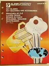 Vintage 1979 ILCO CATALOG NO.60: Key Blanks Key Machines & Accessories -In Wrap