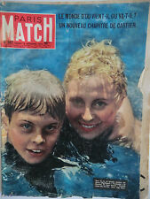 Paris Match n°387- 1956 - Michèle Morgan tourne dans Vendanges