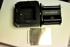 Hasselblad black A12 type II film back with matching insert and dark slide #1