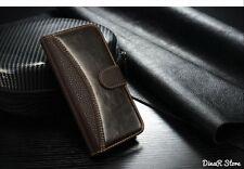 HandyHülle für Apple iPhone 6 Tasche Hülle Case Wallet - Braun (21BR)