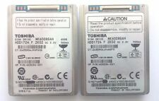 LOT Of 2 Toshiba 403034-001 1.8'' 60GB MK6008GAH ZIF MicroDrive HDD1724 F ZK02