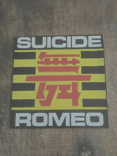 SUICIDE ROMEO - SUICIDE ROMEO/MODERNE ROMANCE - FRENCH NEW WAVE,SYNTH POP