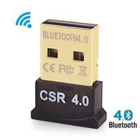 Bluetooth 4.0 USB 2.0 CSR 4.0 Dongle Adapter for PC LAPTOP WIN XP VISTA 7 10