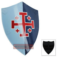 Norwegian Medieval Holy Norse Knight Steel Replica Shield of Arms Viking Raider