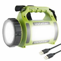 Powerful CREE LED Torch Flashlight Lantern Searchlight Spotlight Long Distance