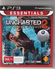 Uncharted 2: Among Thieves -- Platinum (Sony PlayStation 3, 2010)