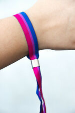 Bisexuell Bi lgbtq Festivalband CSD Armband Pride Gay lgbt Bändchen Pan Flagge