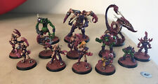 Blood Bowl Nicely Painted Slaanesh Chaos Pact Renegade Team 13 Players Oldhammer