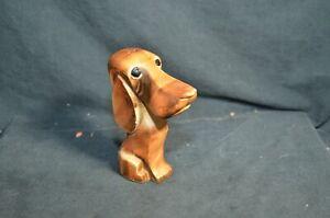Vintage Porcelain Bloodhound Salt Shaker