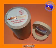"""12 xROLLS TRADE QUALITY AUTOMOTIVE MASKING TAPE 18mm (3/4"""") FOR AUTO BODY REPAIR"""