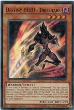 Yu-Gi-Oh DESO-EN001 Destiny HERO Drilldark Super Rare 1st edition