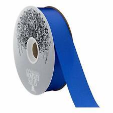 "Vans 100 Yards Royal Blue Acetate Satin Ribbon, 1.3"" W. (282229-044)"