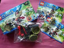 Crawley's Claw Ripper #70001 Lego Leyendas De Chima Conjunto retirado Caja Instrucciones