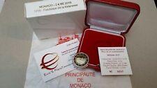 MONACO 2 euro 2015 Fs BE PP 800 fondation Forteresse Fortezza castello rocca