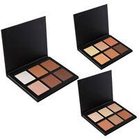 6 Colors Contour Makeup Face Cream Concealer Palette Foundation Powder Brush Set