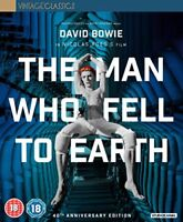The Man Who Fell To Earth Collectors Edition [Blu-ray] [2016] [DVD][Region 2]