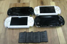 PSP 1000 Console Piano Black / White Lot of 4set battery pack m395
