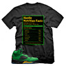 Hustle Facts T shirt for Jordan 5 Oregon Ducks Apple Green Yellow Unisex T-shirt