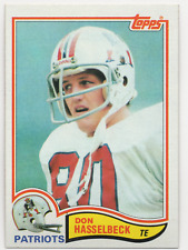 1982 Topps #152 - DON HASSELBECK