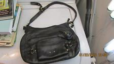 Black Stone Mountain Shoulder Bag/Purse