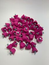 """New Adams Pink Replacement Football Cleats Studs - 1/2"""" Inch"""