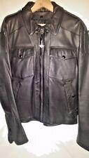 Vtg 80's Hein Gericke Biker Dress Leather Harley Davidson Motorcycle Cafe Jacket