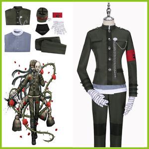 Danganronpa V3 Korekiyo Shinguji Cosplay School Uniform Set Party Outfit Costume
