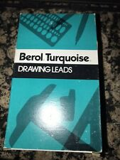 NEW OLD STOCK BEROL TURQUOISE DRAWING LEADS  2376 NON PHOTO BLUE