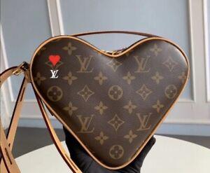 Louis Vuitton Monogram Canvas Game On Coeur Heart Bag Authentic Limited Edition