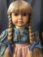 Pleasant Company Rare White Body Kirsten with Tinsel Hair ~ American Girl