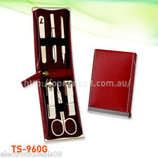 6 pcs Three Seven Gold Nail Clipper Kit - Stainless Steel (TS-960G) Aussie Stock
