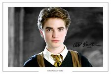 ROBERT PATTINSON AUTOGRAPH SIGNED PHOTO PRINT CEDRIC DIGGORY HARRY POTTER