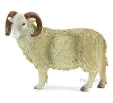 Mojo Fun 387097 RAM Sheep Realistic Farm Animal Toy Replica