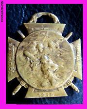 MED1787 - MEDAILLETTE JOURNEE DU POILU DECEMBRE 1915 par BARGAS