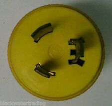 P&S PUSH AND TURN 3 PRONGED MALE PLUG 20A 250V