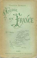 VOYAGE EN FRANCE - ANJOU- BAS MAINE- NANTES- BASSE LOIRE- ALPES MANCELLES 1894