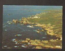 ILE D'OUESSANT (29) PHARE de CREAC'H en vue aérienne 1982