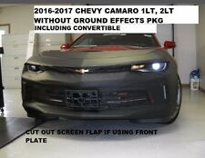 Lebra Front End Mask Cover Bra Fits 2016-2018 Chevy Camaro 1LT & 2LT