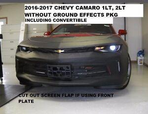 Lebra Front End Mask Cover Bra Fits 2016-2018 Chevy Camaro 1LT , 2LT & LS W/O EF