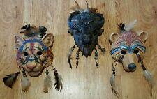 Hamilton Sacred Spirits Totem Ceremonial Mask Collection - Set of 3